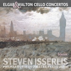 Cello Concertos by Elgar ,   Walton ;   Steven Isserlis ,   Philharmonia Orchestra ,   Paavo Järvi